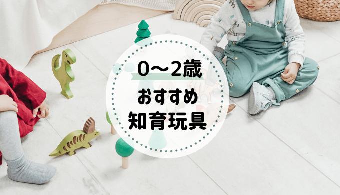 0~2歳おすすめ知育玩具