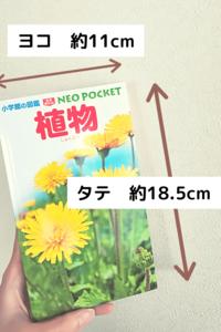 植物図鑑 ポケット版 size