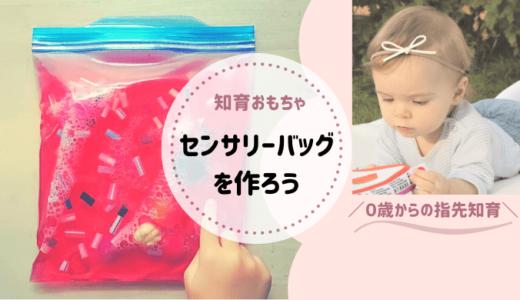 【センサリーバッグの作り方】手作り玩具で赤ちゃんの脳と手指感覚を鍛えよう!